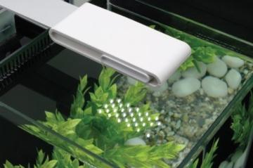 Fluval Nanoaquarium 10.7 Liter, weiß