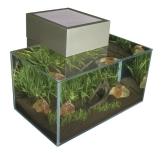 Fluval 15395 - Edge Nano Aquarium, zinnfarben - 1