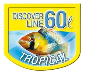 Tetra AquaArt Fische Aquarium-Komplett-Set 60 Liter