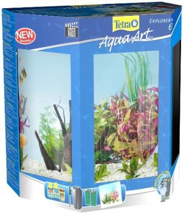 Tetra AquaArt Explorer Line Tropisches Aquarium Komplett-Set 60 Liter